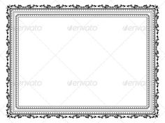 Decorative frame  #GraphicRiver         Decorative frame on a white background. Files included – ai (version 8 and CS5 ), eps (version  and high resolution JPEG      Created: 23September11 GraphicsFilesIncluded: JPGImage #VectorEPS #AIIllustrator #VectorEPS #AIIllustrator #JPGImage Layered: No MinimumAdobeCSVersion: CS Tags: background #border #decorative #decorativeborder #frame #illustration #retro #vector