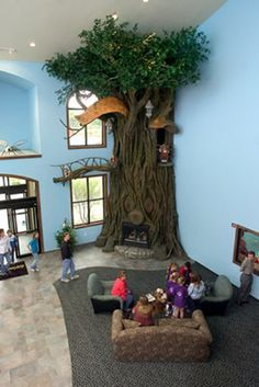 Imaginative Indoor Tree House Artificial Tree For Kids By
