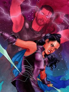 Valkyrie & Thor, Kevin Wada