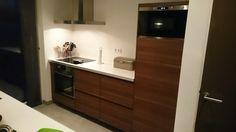 Ikea voxtorp walnut kitchen