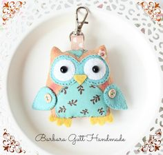 Barbara Handmade...: Sówka na sobotę / Saturday owl
