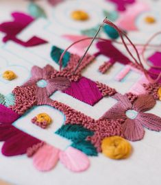 typography #embroidery