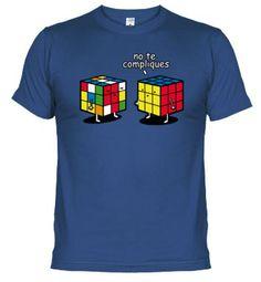 camiseta divertida cubos de rubik