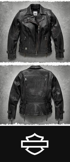 A legend is born. Motorcycle Style, Motorcycle Outfit, Motorcycle Fashion, Motorcycle Accessories, Harley Davidson Merchandise, Harley Gear, Biker Gear, Leather Fashion, Men's Fashion
