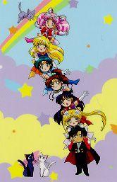 Sailor Moon chibis