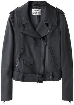 Acne Studios  Mape Scuba Leather Jacket
