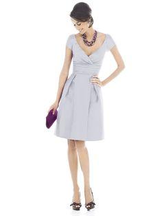 classic dress for bridesmaids