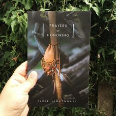 These prayers are filling me up over here (and helping me pour out a bit too). I highly recommend this book dear ones. (find it at pixielighthorse.com)