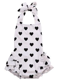 Cool New Newborn Romper Baby Girl Infant Clothing 2pcs/Sets 2016 Tutu Sleeveless Romper Halter Belt jumpsuit+Headband - $12.39 - Buy it Now!