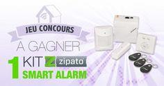 #CONCOURS: un pack de démarrage sécurité Smart Alarm de chez Zipato à gagner !