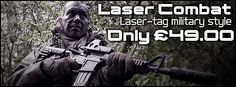 Laser Combat (Laser Tag) at WarFighters Paintball & Laser Combat Centre, Warwickshire/Northamptonshire #lasertag #warfighters  http://www.warfighters.co.uk/reconx-laser-combat-game-landing/