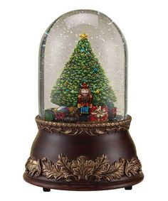 Take a look at this Christmas Tree Snow Globe by Roman, Inc. on #zulily today!