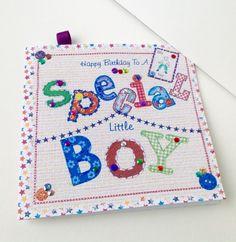 Birthday Card,Greeting Card,Special Little Boy,Handmade Card £1.95