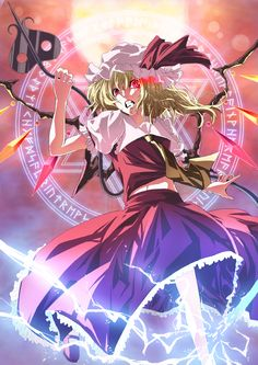 Flandre Scarlet (Touhou 6 - Embodiment of Scarlet Devil)
