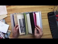 This is a DIY Book Binding Tutorial on how to make that Elusive Perfect DIY Journal You've Been Waiting For! Easy to make & oh-so-nice! Handmade Journals, Handmade Books, Fabric Journals, Art Journals, Travel Journals, Book Binding Methods, Smash Book Planner, Accordion Folder, Books For Tweens