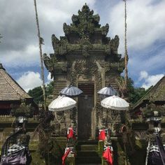 Penglipuran Village-Vila tradicional balinesa - templo