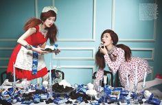 "Greedy Girl's Last Supper"" by Kim Jung Sunfor Vogue Girl Korea"