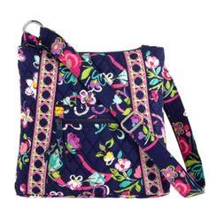 Vera Bradley Hipster Handbag in Ribbons