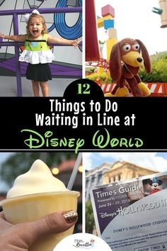 Waiting in line at Disney can't always be avoided but here are 12 constructive ways to spend the time in queue that will entertain and occupy your family (lots of ideas for keeping toddlers and kids busy in line at the Disneyland and Walt Disney World par Disney World Vacation Planning, Walt Disney World Vacations, Disney Planning, Disney Trips, Family Vacations, Disney Travel, Family Travel, Dream Vacations, Vacation Ideas