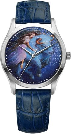 D - Taurus constellation Taurus Constellation, Swiss Made Watches, Quartz Watches, Stainless Steel Case, Constellations, Unique Gifts, Sapphire, Miniatures, Hand Painted