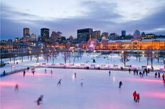 Skating Old Port Montreal