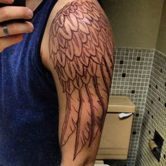 angel wing tattoo armBeautiful Wing Tattoos   CIE oMbReJkR