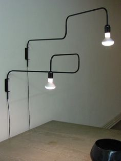 Image of swivel lamp