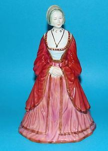 COALPORT figurine royal collection Henry Queen 'Anne of Cleves' Mary I, Queen Mary, Queen Anne, Henry's Wives, Anne Of Cleves, King Henry Viii, Queen Of England, Tudor History, The Crown
