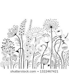 doodle art patterns / doodle art - doodle art journals - doodle art for beginners - doodle art easy - doodle art drawing - doodle art creative - doodle art patterns - doodle art for beginners easy drawings Easy Doodles Drawings, Doodle Art Drawing, Simple Doodles, Drawing Ideas, Doodle Wall, Zen Doodle, Drawing Tips, Flower Line Drawings, Butterfly Drawing