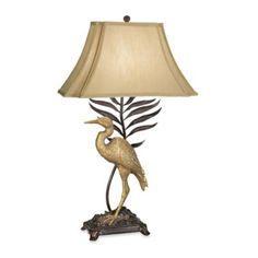 Kathy Ireland Home Whispering Palms Table Lamp - BedBathandBeyond.com