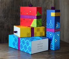 """Croatia in a Boxdelivers high-quality Croatian products in the product line of gift / souvenir packaging and in the future through a chain of """"pop-up"""" stores. The identity aims to capture the attention and stand out from the classic premium offer in this…"""