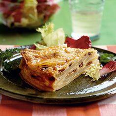 Potato turnip torte