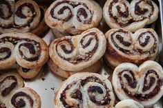 Quick and Easy=LLG Cooks: Nutella & Toasted Hazelnut Palmiers Recipe