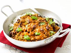 Chili con carne Fried Rice, Wine Recipes, Meal Planning, Curry, Favorite Recipes, Beef, Meals, Baking, Dinner