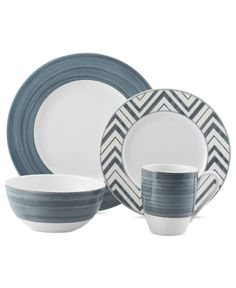 Mikasa Cadence Mix and Match Collection - Dinnerware - Dining & Entertaining - Macy's