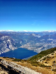 Lake #Garda: a view from Monte Altissimo in #trentino
