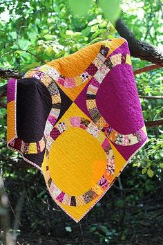 Single Girl Quilt Along - love those colors!.