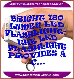 Square Off 26 Million Volt Keychain Stun Gun Self Defense Keychain, Self Defense Weapons, Self Defense Women, Best Self Defense, Spy Devices, Send Text Message, Security Products, Self Defense Techniques, The Next Big Thing
