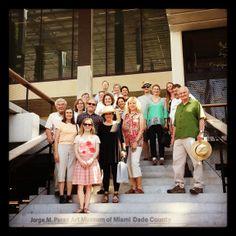 #FriendsofArchitecture group photo at the Perez Art Museum #Miami. #FOA