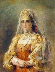 Zinaida Yusupova by Konstantin Makovsky (1839 - 1915)