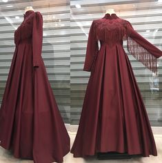 Beautiful Prom Dresses, Nice Dresses, Hijab Dress Party, Lace Ball Gowns, Abaya Designs, Islamic Fashion, Mode Hijab, African Fashion, Look