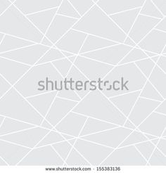 Vector seamless geometric simple pattern - gray abstract cells background for design