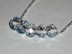 Swarovski crystal necklace Carrie inspired necklace by mcutecharms, $25.00