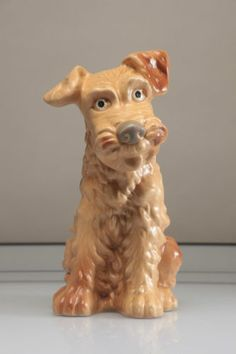 SYLVAC Welsh Terrier Dog #1380 Large Size Figure