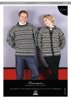 Bodøkofte og Genser pattern by Rauma Designs Norwegian Knitting, Knitting Patterns, Men Sweater, Sweaters, Inspiration, Scandinavian, Design, Fashion, Threading