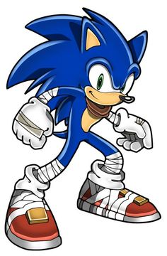 Sonic has an awsome design in sonic boom.