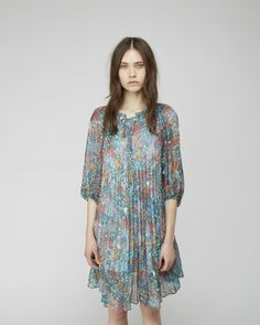 Tsumori Chisato  Sea Flower Chiffon Dress | La Garconne