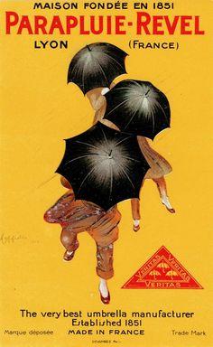 Parapluie-Revel by Cappiello, Leonetto