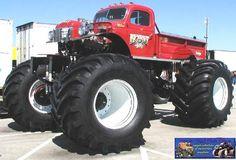 Jacked Up Trucks, Cool Trucks, Big Trucks, Monster Jam, Monster Trucks, C10 Chevy Truck, Real Monsters, Dodge Power Wagon, Old School Cars