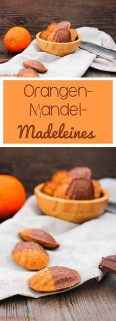 C&B with Andrea -Orangen-Mandel-Madeleines vegan Rezept - www.candbwithandrea.com - Collage